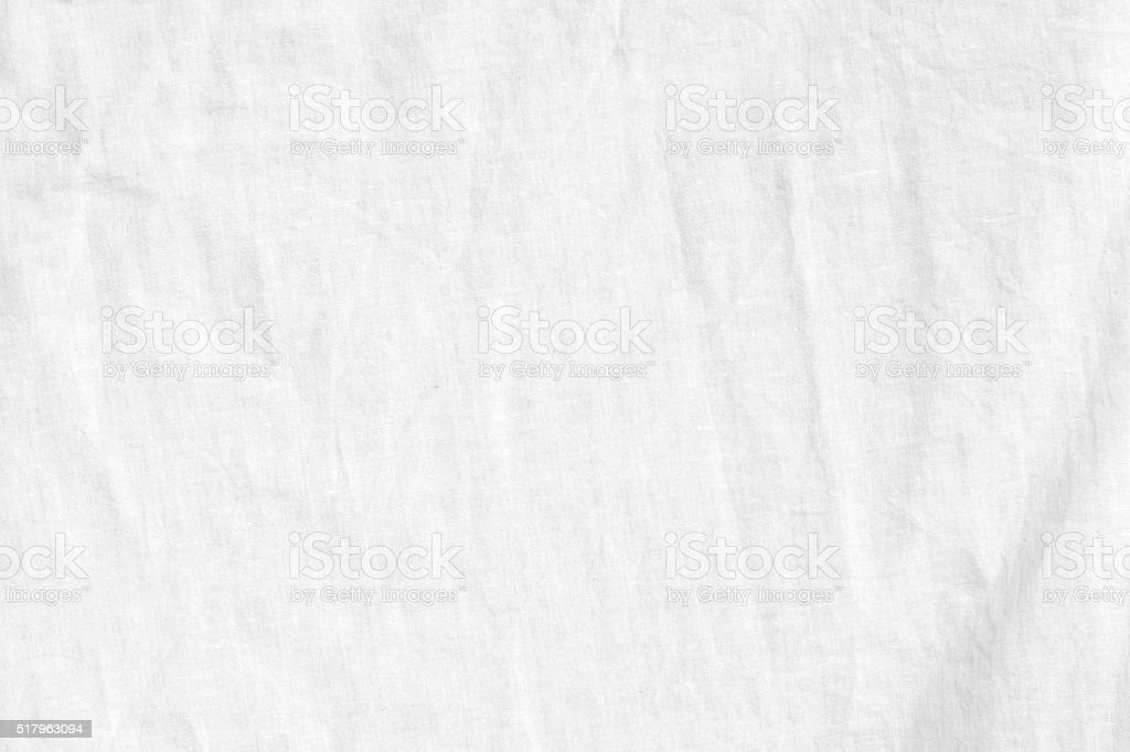 White Linen  Background stock photo