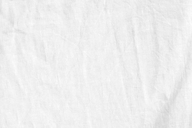 sfondo di lino bianco - tovaglia foto e immagini stock