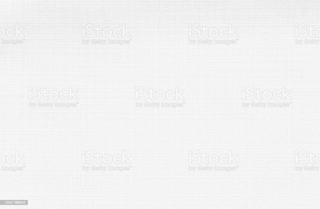 Tejido de lino blanco - foto de stock