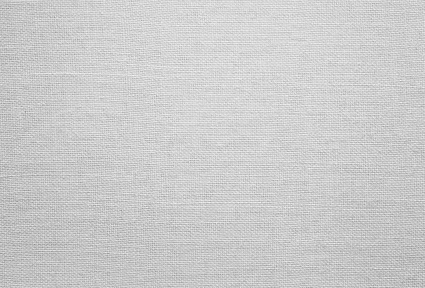 ホワイトリネンの質感 - 刺繍 ストックフォトと画像