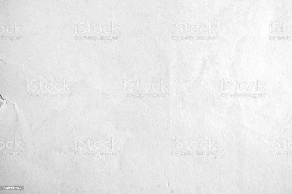 White Little Torn  Paper Texture Background. stock photo