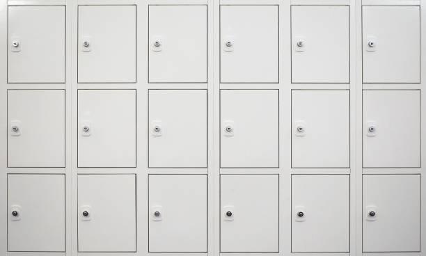 armário de armário branco - foto de acervo
