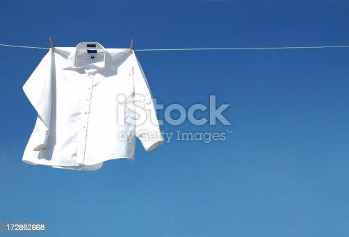 istock White Long Sleeve Shirt 172862668