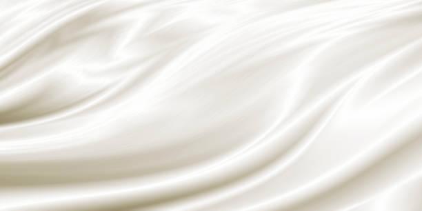 Weißer Luxus-Tuch-Hintergrund mit Kopierraum – Foto