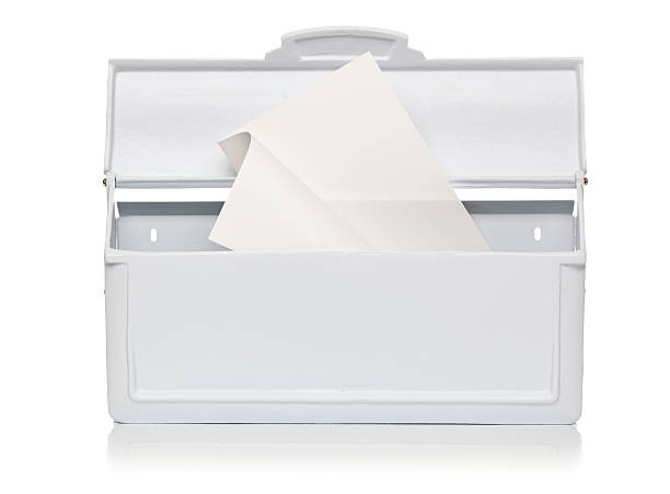 White Mailbox with Mail