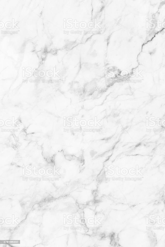 White marble patterned texture background for design stock photo
