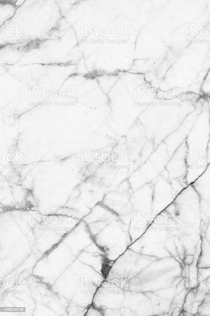 White Marble Patterned Texture Background For Design Stock