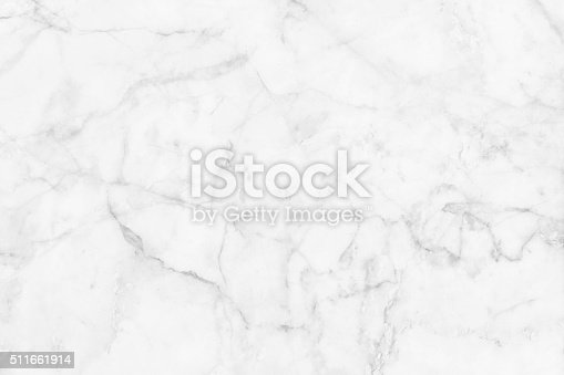 istock White marble patterned texture background. 511661914