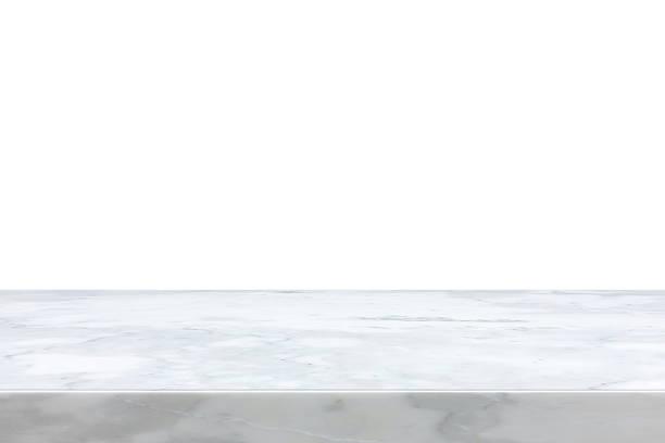 White marble stone countertop - Photo