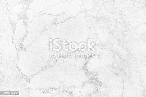 istock White marble texture abstract background pattern with high resolution. 622430458