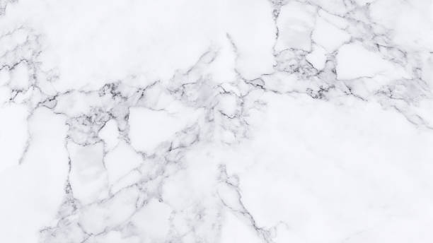 White marble texture and background. - Photo