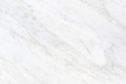 White background with white marble texture in top view new and clean surface. Natural stone for architectural decoration both interior and exterior i.e. kitchen countertop, flooring, wall, cladding.
