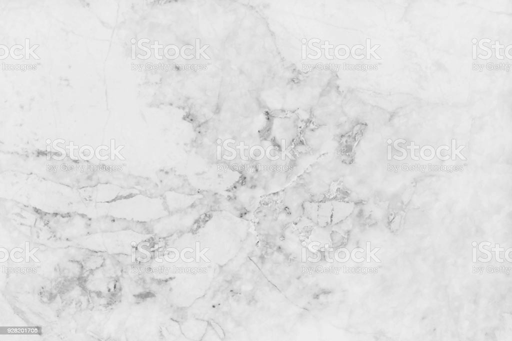White marble texture in natural pattern with