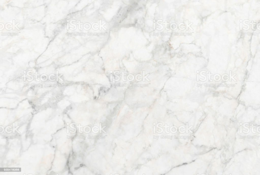 White marble texture (Natural pattern for backdrop or background, Can also be used for create surface effect to architectural slab, ceramic floor and wall tiles) stock photo