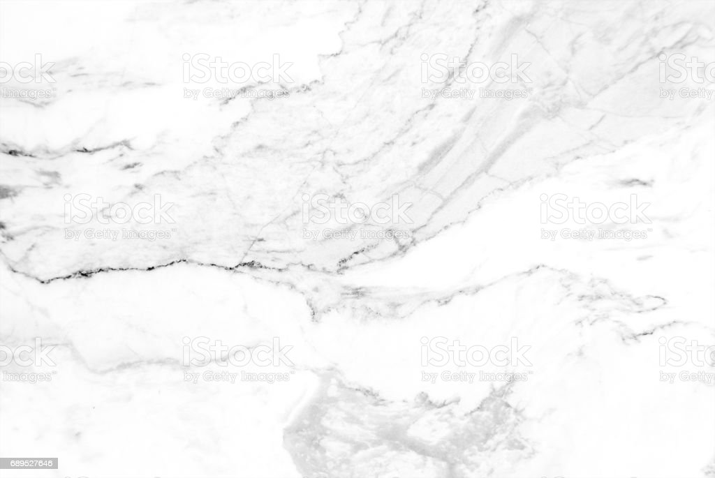 White marble texture with delicate veins stock photo