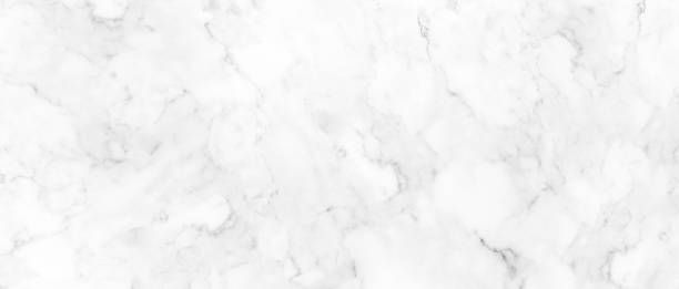 white marble texture with natural pattern for background or design art work, high resolution. - bianco foto e immagini stock