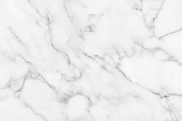 white marble texture with natural pattern for background. - mármore rocha imagens e fotografias de stock