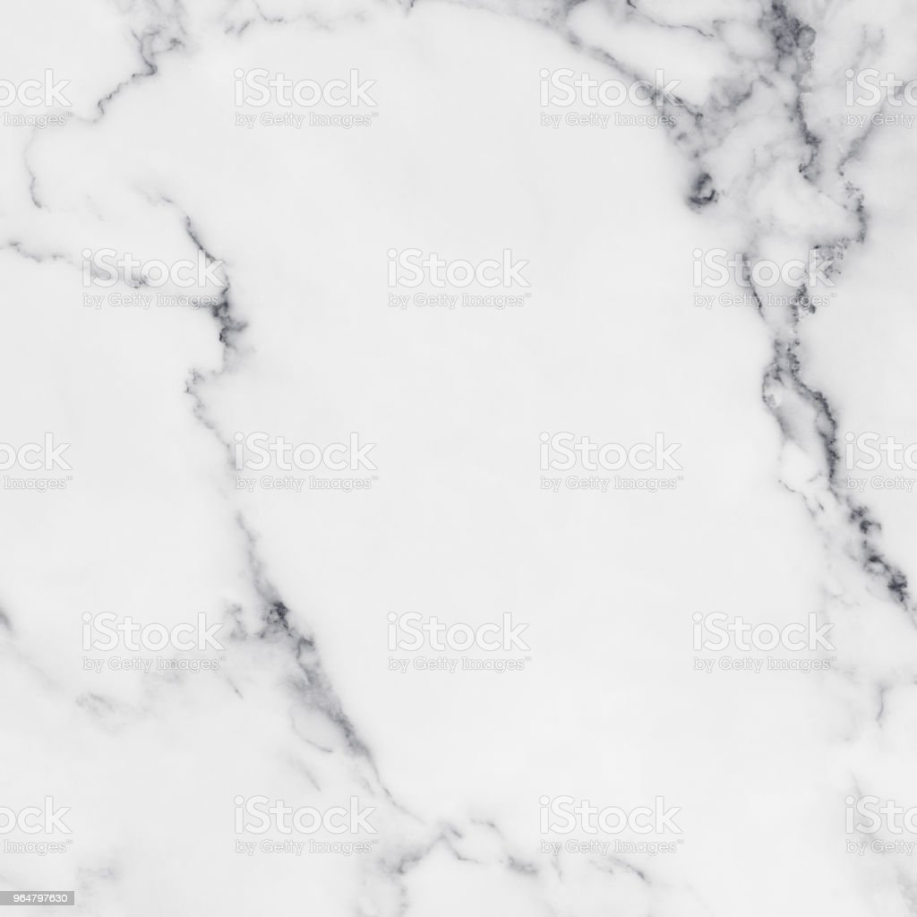 White marble texture with natural pattern for background royalty-free stock photo