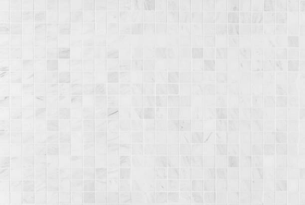 white marble tile - кафель стоковые фото и изображения