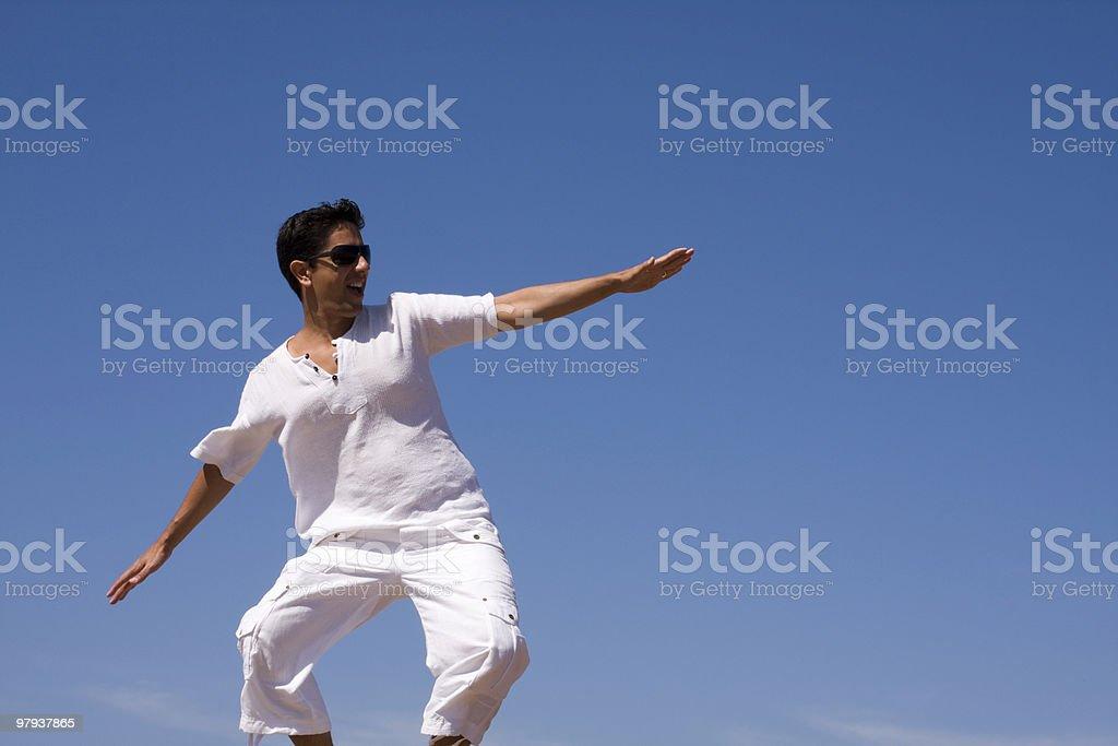 white men surfing royalty-free stock photo
