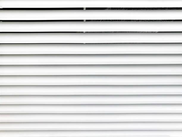 Textura de red de ventilación de aire de metal blanco. - foto de stock