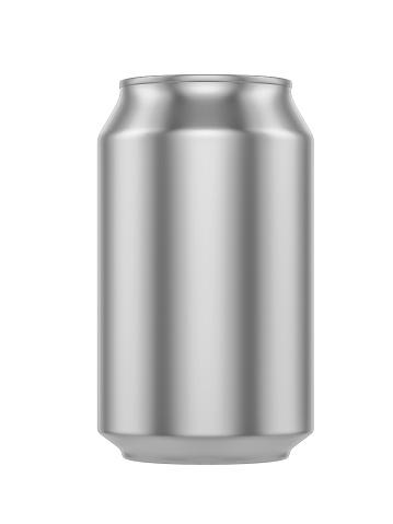 istock White Metal Aluminum Beverage Drink Can 500ml 494438744