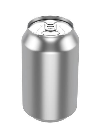 istock White Metal Aluminum Beverage Drink Can 500ml 494438756