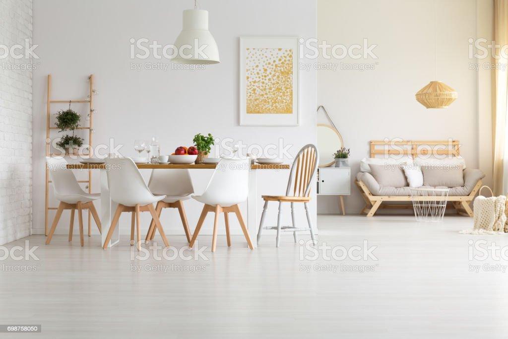 Weiss Modernes Wohndesign Stockfoto Und Mehr Bilder Von Beige Istock