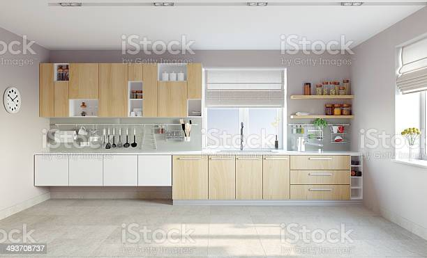 White modern kitchen with light brown cabinets picture id493708737?b=1&k=6&m=493708737&s=612x612&h=hx18c6zzgirwrhlhkwozo7yixaib4asu0tsrjkirbja=
