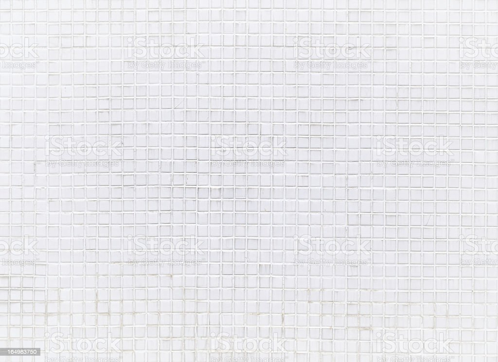 white mosaic pattern royalty-free stock photo