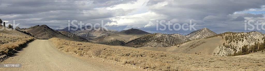 White Mountains, Eastern California stock photo