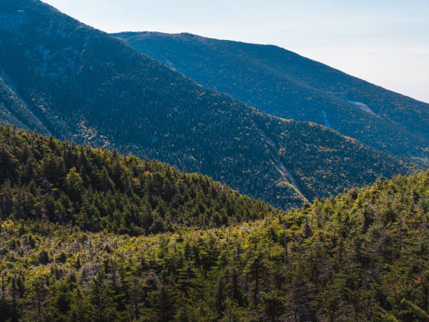 White Mountains stock photo