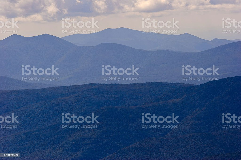 White Mountains royalty-free stock photo