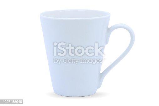 istock White mug isolated on white 1227488549