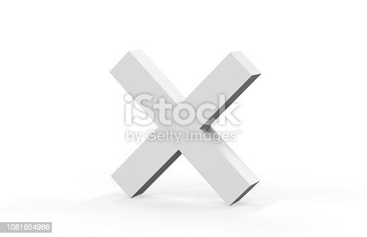 istock White Multiply Symbol 1061654986
