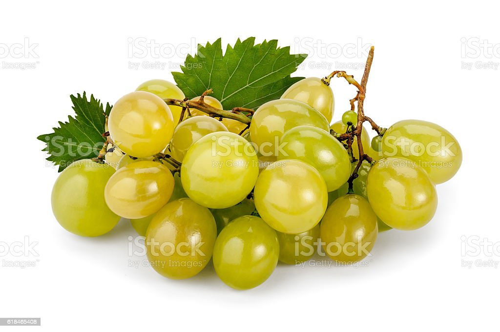 White Muscat Grapes stock photo