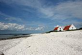 Summer vacation along the fjord of north Denmark, Limfjorden