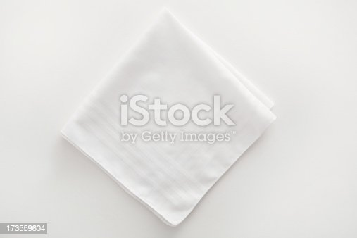 white napkin, similar subject: