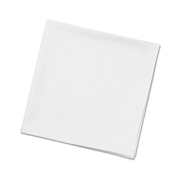 White Napkins stock photo