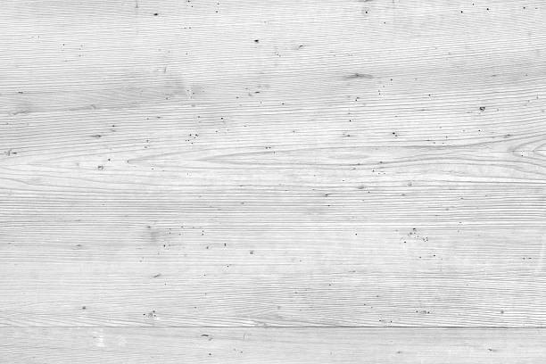 White natural wood texture and seamless background stock photo