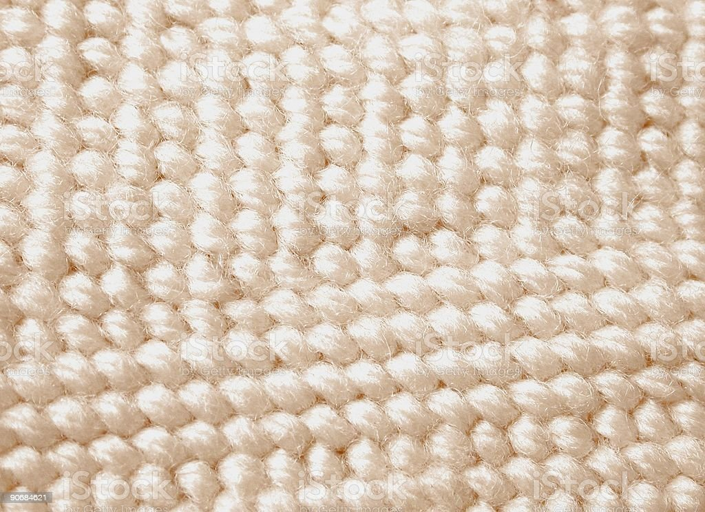 White Needlework royalty-free stock photo
