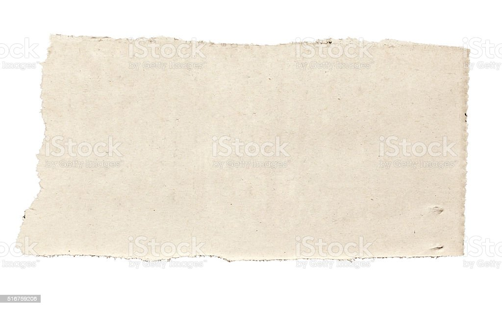 white news paper ripped message background stock photo