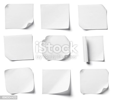 istock white note paper office business 696304420