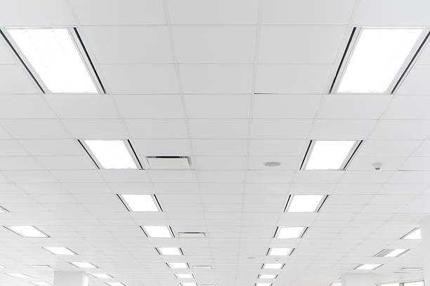 Plafond blanc bureau - Photo