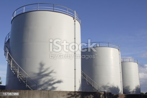 White Fuel tanks