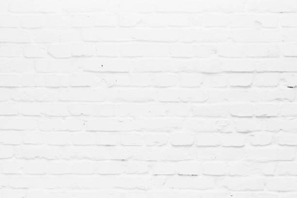 white old brick wall foto