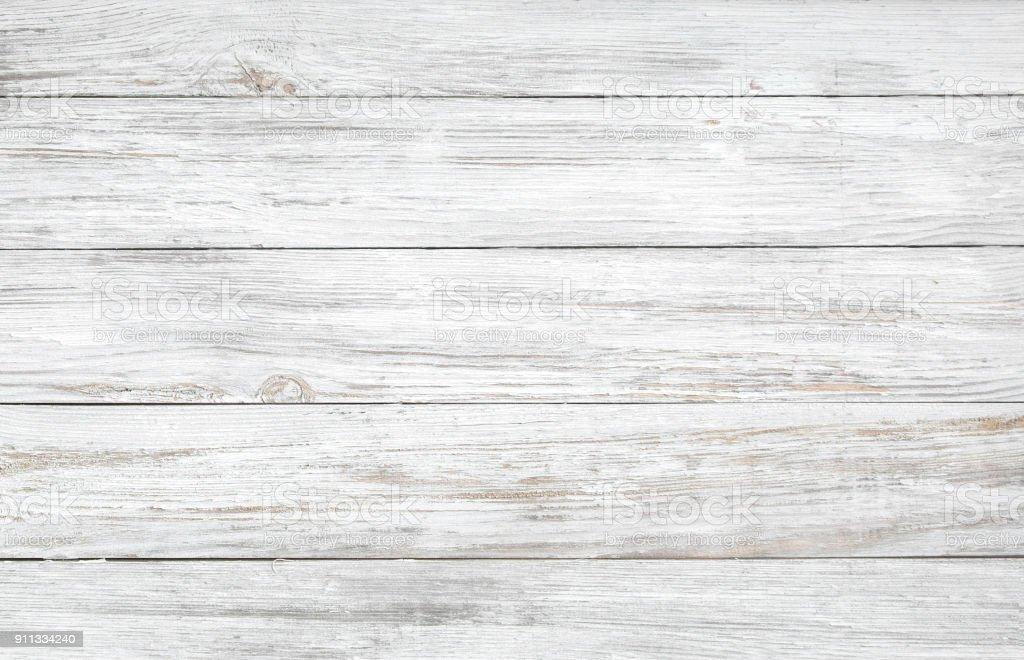 blanco valla de madera. Fondo de madera palisade. - foto de stock