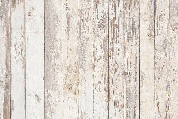 white old wooden fence. wood palisade background. planks texture - palisade boundary stock photos and pictures