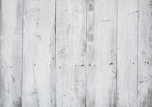 white old wooden fence. wood palisade background. planks texture