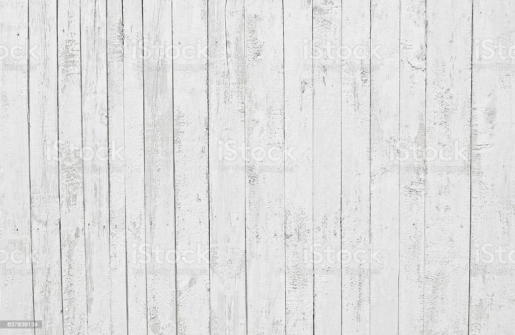 White Old Wooden Fence Wood Palisade Background Planks ...